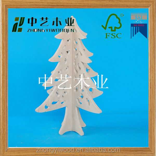 cheap outdoor home decor natural japanese wooden christmas decorations