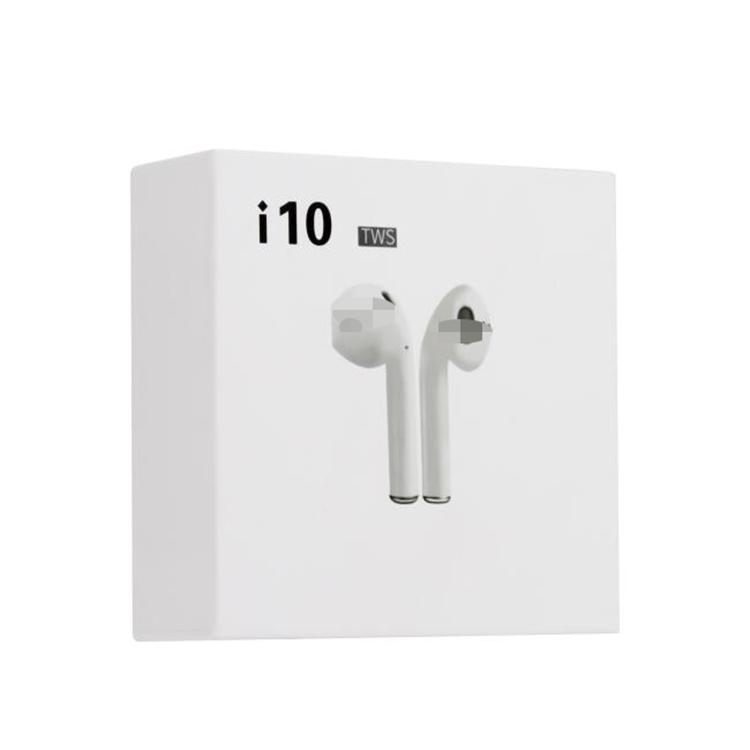 Mini Sport Wireless Blue tooth Earphone i10 TWS 5.0 Double Stereo Earbuds фото