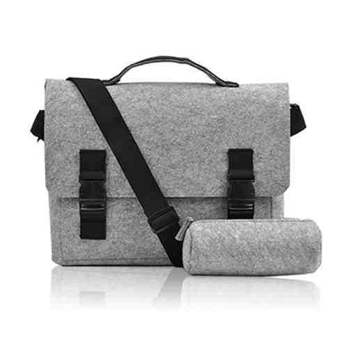 Shoulder bags laptop 15 waterproof notebook computer bag Security Laptop women bag laptop compute women messenger bags