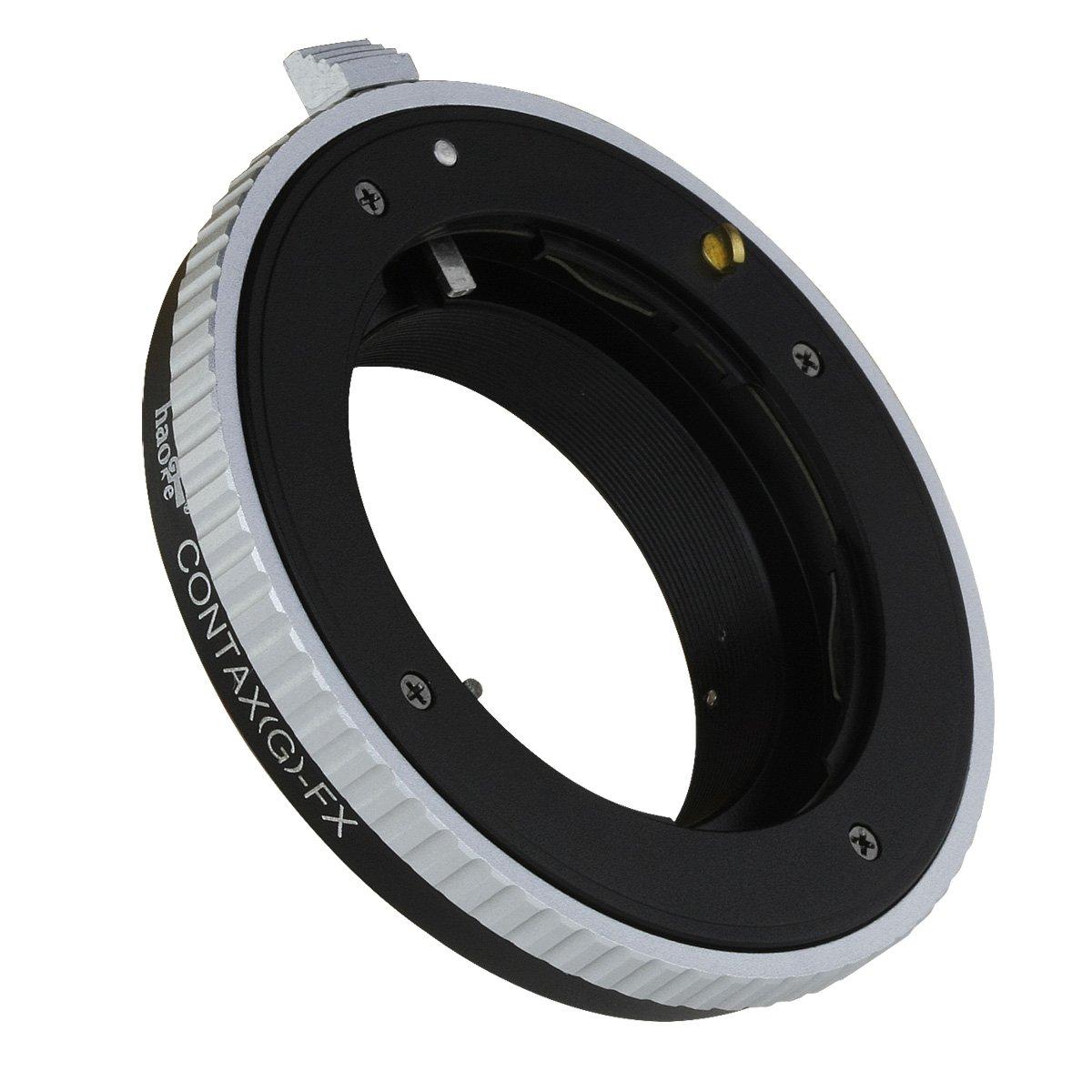 Haoge Lens Mount Adapter for Minolta Rokkor MD MC mount Lens to Fujifilm X FX mount Camera such as X-A5 X-A10 X-A20 X-E1 X-E2 X-E2s X-E3 X-H1 X-M1 X-Pro1 X-Pro2 X-T1 X-T2 X-T3 X-T10 X-T20 X-T30 X-T100