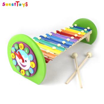 Bebé Xilófono Xilófono Teclas Xilófono Para juguete Reloj Juguete 12 Calidad Forma alta Timbre voz Buy Estándar De Madera n80kwOP
