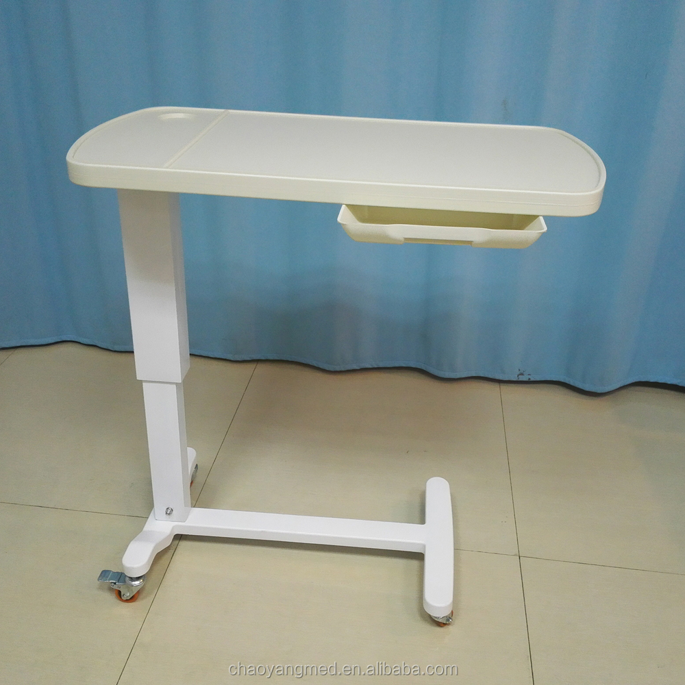 Hospital Bed Tray With Drawer Cy H815b