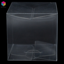 Custom Printed Clear Vinyl Soft Pvc Plastic Packaging Folding Retail Display Box