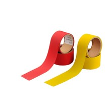 LX103 Yellow Polyester fabric Ordinary Reflective safety tape