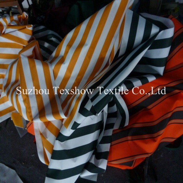 outdoor stripes tent awning fabric