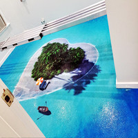 Custom design Epoxy 3d flooring