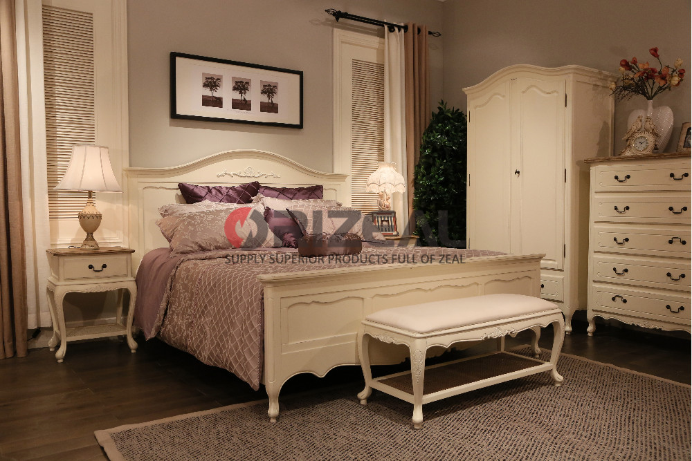 groothandel amerikaanse stijl slaapkamer meubels massief hout, Deco ideeën