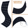 bendable solar module and back contact solar panel 145w