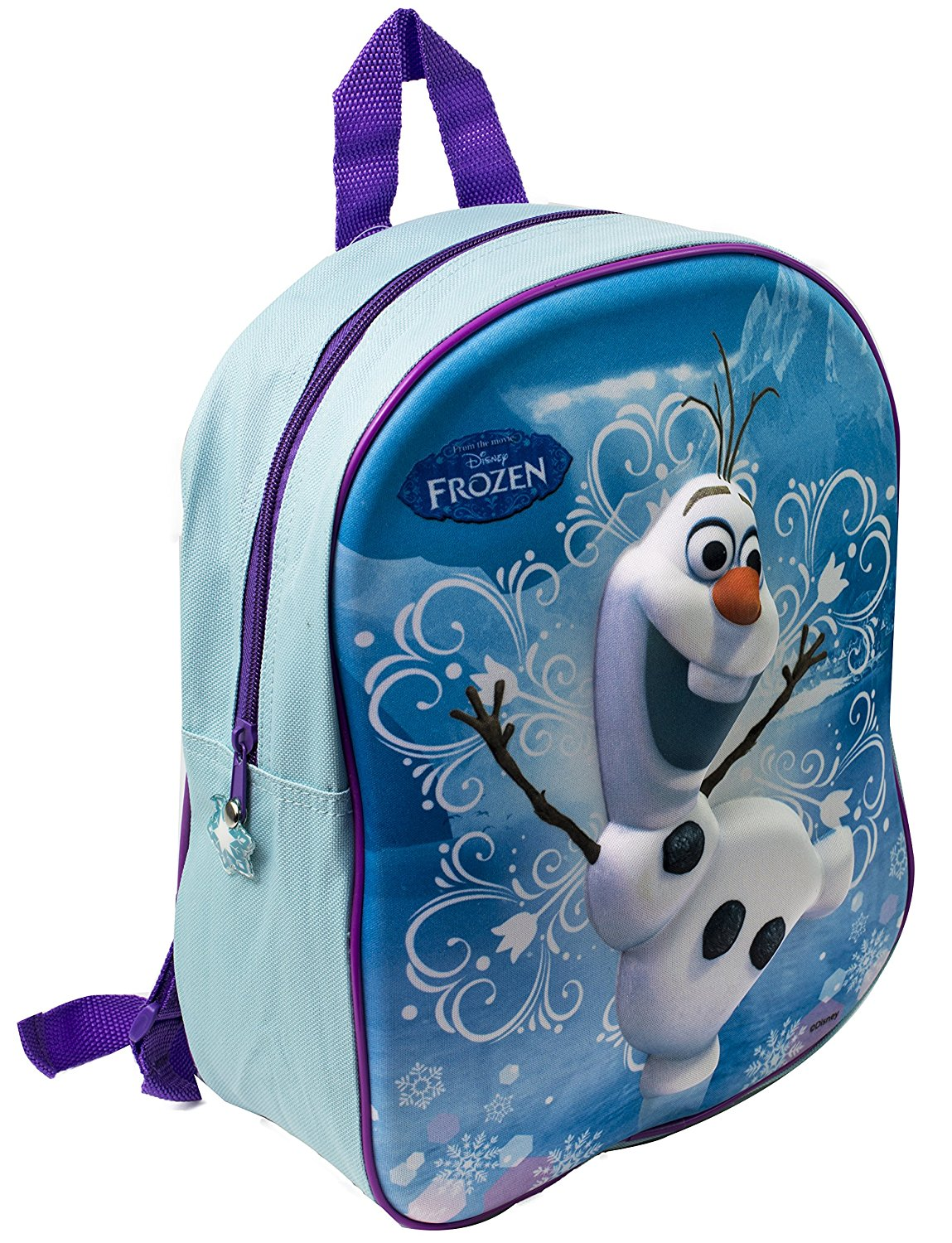 4d18768f158 Get Quotations · OFFICIAL DISNEY FROZEN 3D OLAF SCHOOL BACKPACK