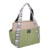 Shoulder Strap design Nylon bag - ethnic stripes pattern
