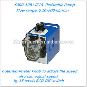 2017 hot sale peristaltic dosing pump spare with Long Service Life