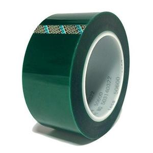 High Temperature Green Polyester PET Masking Tape for power coating