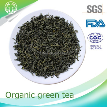 Organic health benefits chunmee green tea tea wholesale