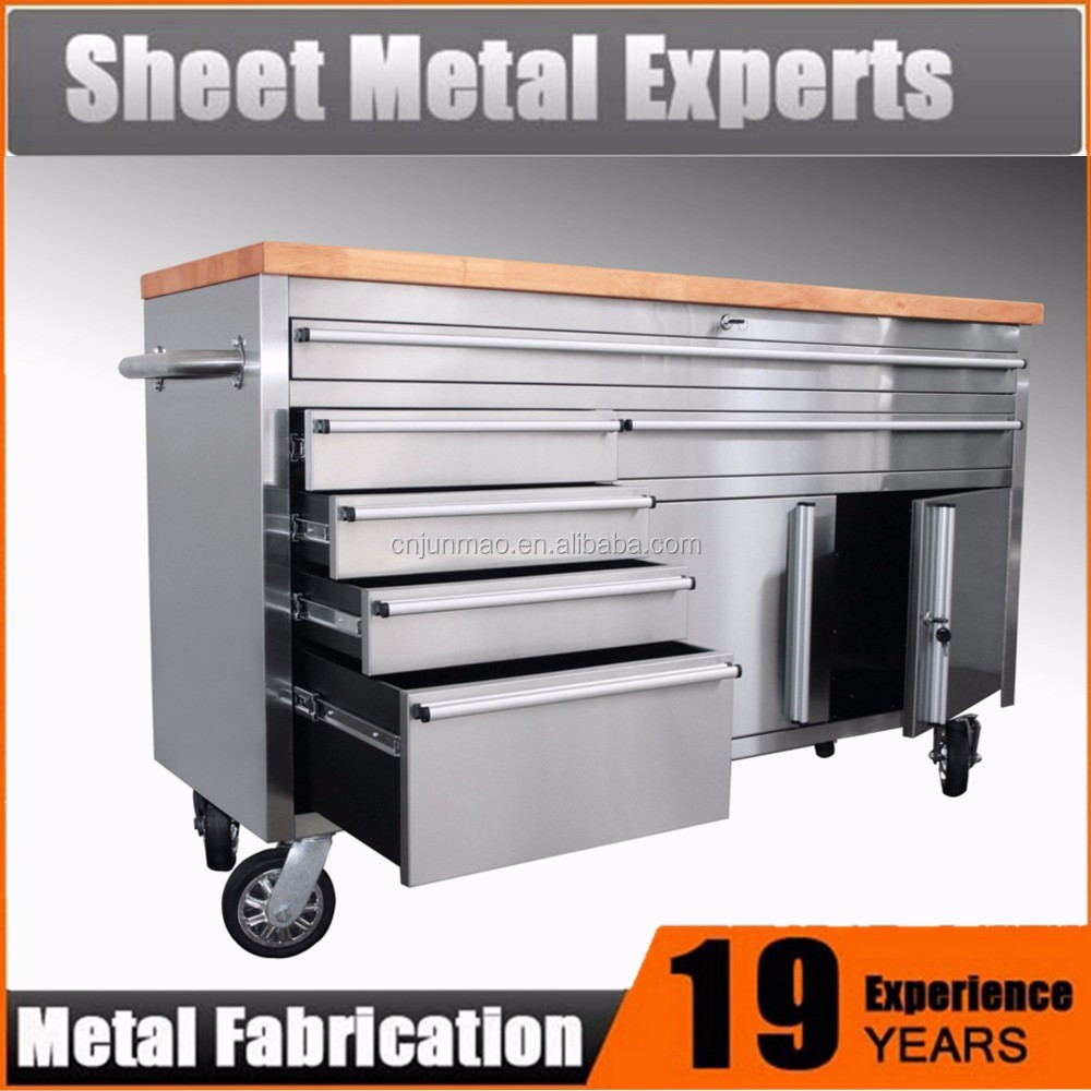 Metal storage tool cabinet for factory & garage