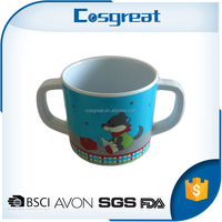 Portable heat resistant food safe melamine bulk tea cups