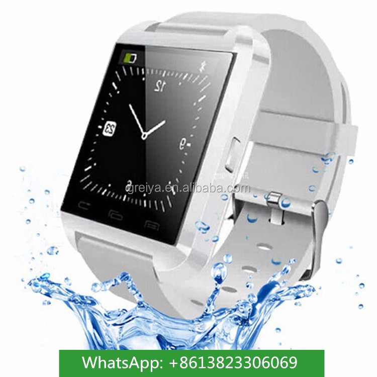 Alibaba hot selling spy watch camera pocket mobile phone watch U8