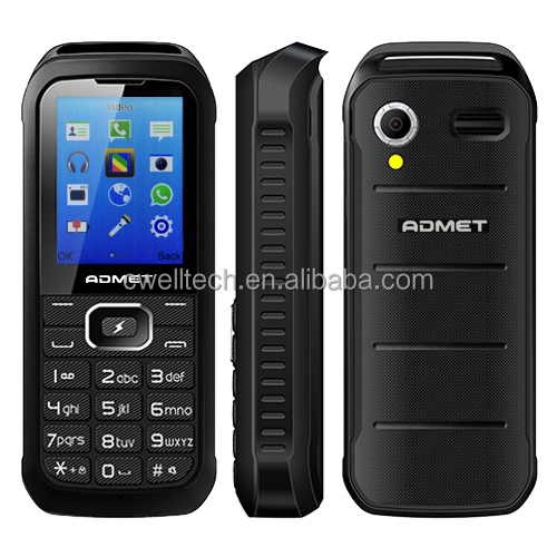 ADMET K5000 Power Bank 3 SIM Card Cheap Mobile Phone