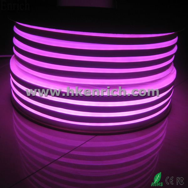 Ultra Slim 24VDC Flex LED Neon Light Pink Color 10cm per cut