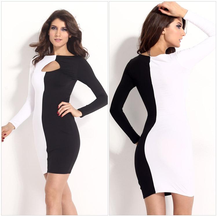 Cheap Black And White Chevron Dress Plus Size Find Black And White