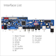 For Southeast Asia And Russian Market Good Quality VS.T56U11.2 Universal LCD LED TV Mohter Board Led TV Spare Parts