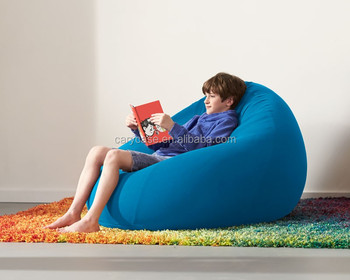 Assorted Colors Floor Bean Bag Cushion, Lazy Relax Beanbag Lounger, Kids  Games Bean Bag