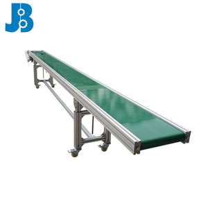 Adjustable Conveyor Table Conveyor Belt Machine Stainless Steel Motorized Anti-Static PVC Belt