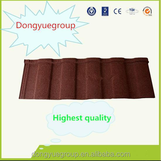 stone coated steel metal tile roofing/roofing shingles sheet/wood type design