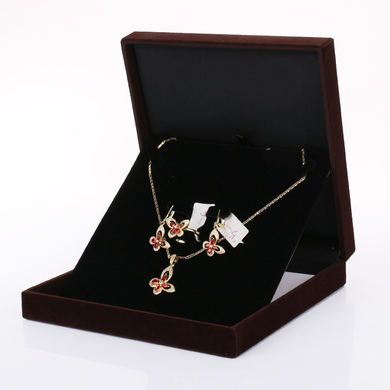 Buy China Factory Hot Sale Black Jewelry Suit Jewelry Gift Box