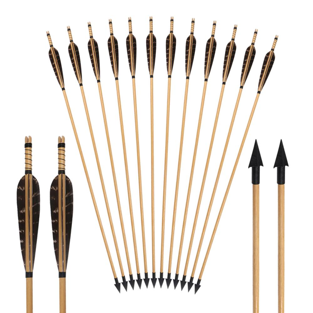 Gaosheng 10 Pcs Archery Arrowheads Soft Foam Arrow Tip Archery Arrow Tip