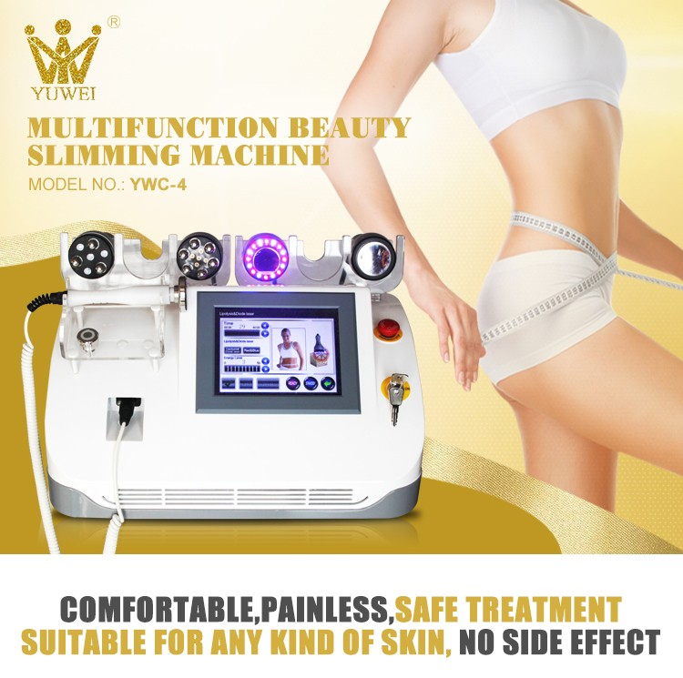 Ultrasonic liposuction rf vacuum cavitation slimming beauty machine price