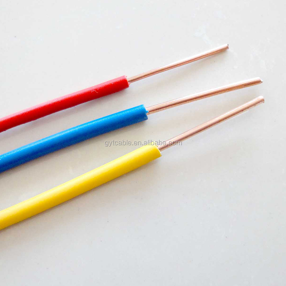 Electric Building Cable Wholesale Electrical Suppliers Alibaba Pvc Insulated Copper Wire Awg Size Tw Thwn Thhn Cablewire