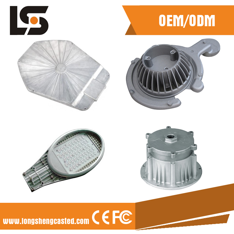 20 years professional OEM CNC aluminum die casting parts with plastic painting in china factory