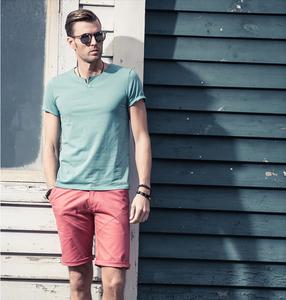 custom design easy pattern men shirt good t-shirt manufacturers in usa