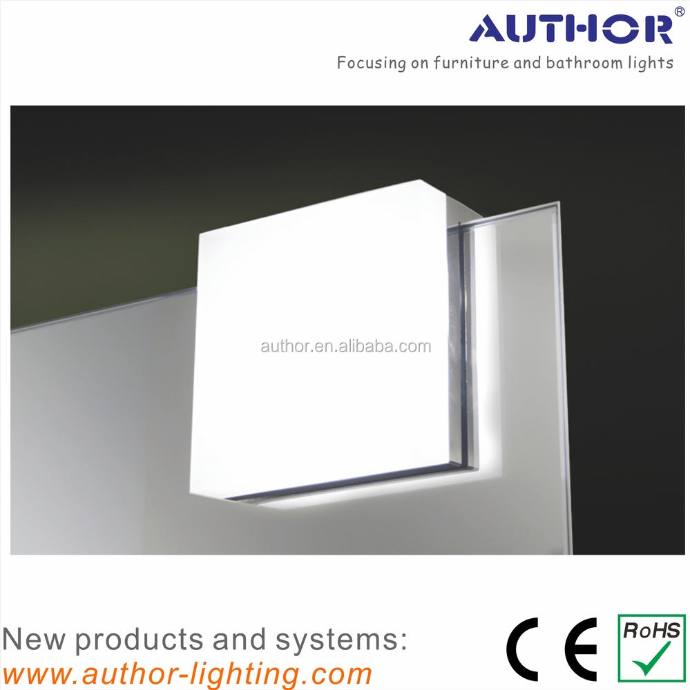 Latest Product Square Led Mirror Lamp Bathroom Mirror Light 2556 ...