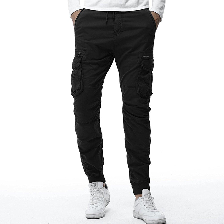 d22ffd25c91 Get Quotations · YoYo Boy Streetwear Camouflage Mens Pants Fashion Cotton  Pencil Pants Streetstyle Hip Hop Jogger Trousers