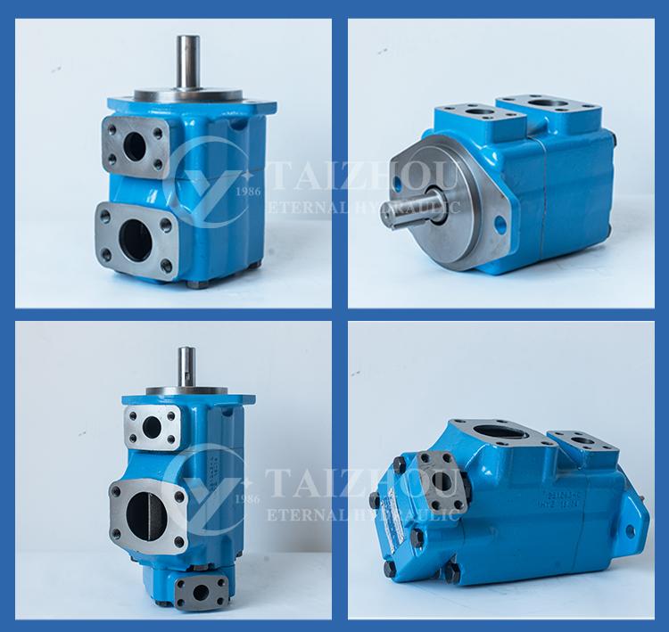 Vickers Hydraulic Double Vane Pump Oil Pump 2520VQ 3520VQ 3525VQ 4520VQ 4525VQ 4535VQ Vane Pump for kayaba caterpillar