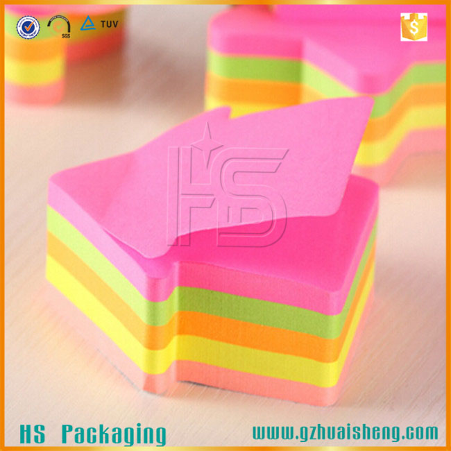 Arrow Shaped Sticky Note, Different Shaped Sticky Memo Marker