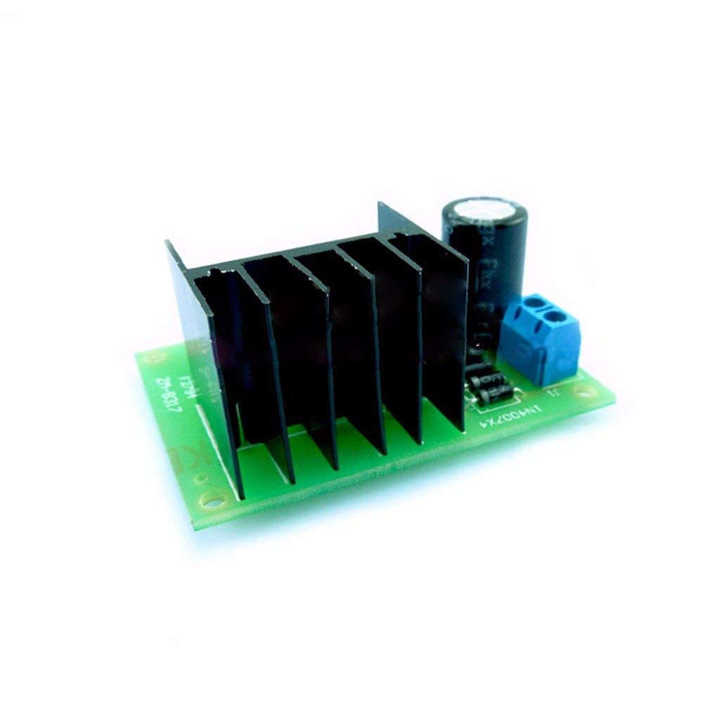 POYING LM317 Adjustable Power Supply Board With Rectified AC DC Input DIY Kit DIY Kit Integrated Circuits