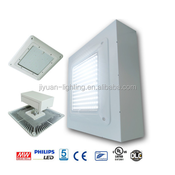 Heat Sink ip65 PF 95% gas station 200w canopy lights led etl