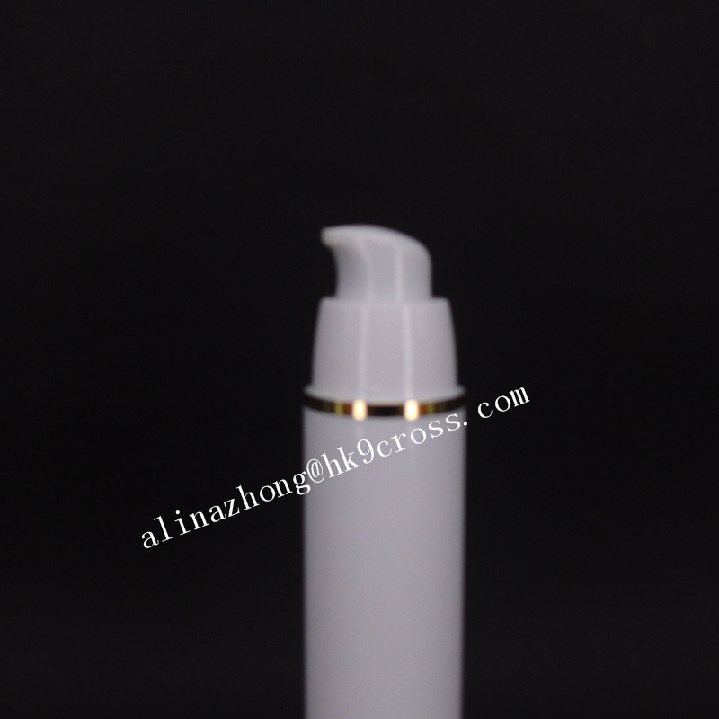 15ml plastic lotion pump bottle for eye cream/cosmetic/skin care