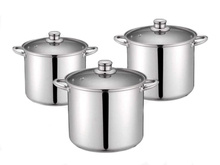 6pcs stainless steel cookware sets electric stoves power rating