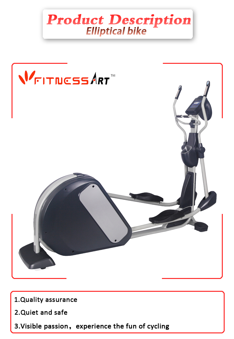 Indoor cycling bikes elliptical trainer for commercial use