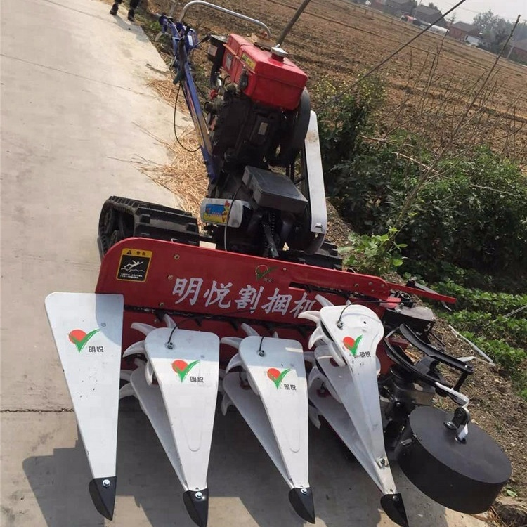 Tracked Walking Tractor Mount Wheat Harvester Price In Sri