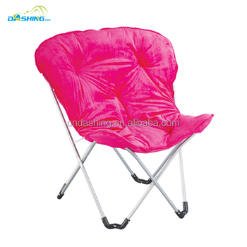 Customized Comfortable Folding Camping Canvas Butterfly Chair