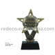 Resin sport award soccer cup trophy