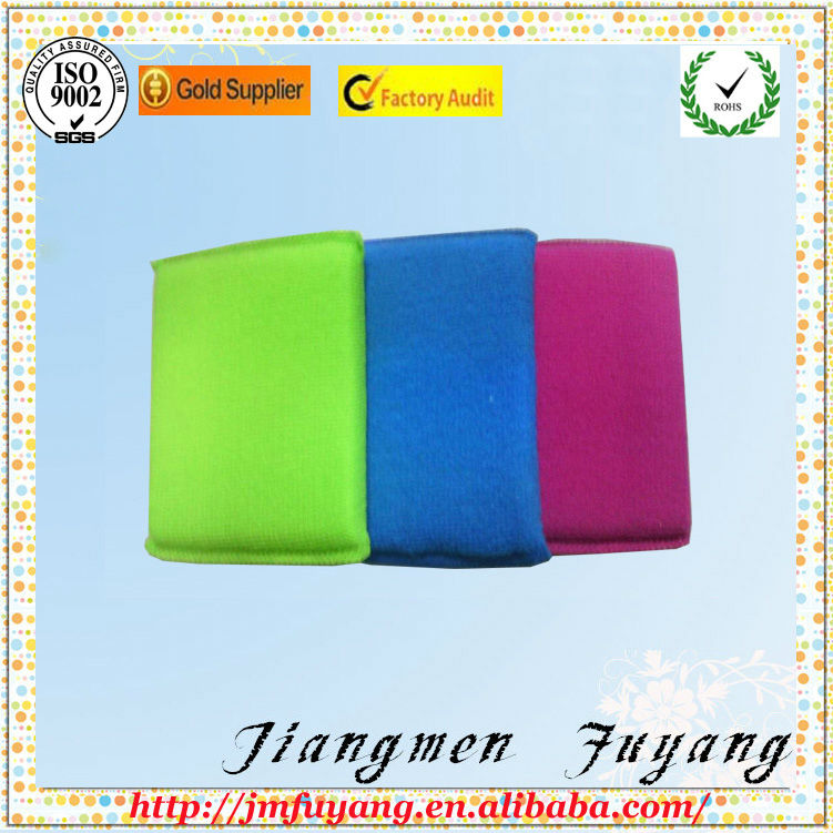 round kitchen cleaning high density foam sponge