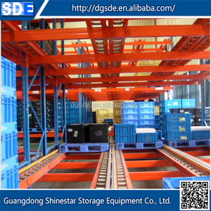 China wholesale high quality Guangdong shelf rolling rack warehouse storage racking