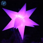 Giant led inflatable star balloon/Inflatable led star/Inflatable led lighting for decoration