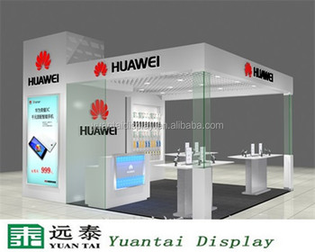 High End Mobile Shop Counter Design Display Table Decoration Buy
