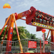Chinese kids games outdoor top spin amusement park rides for sale